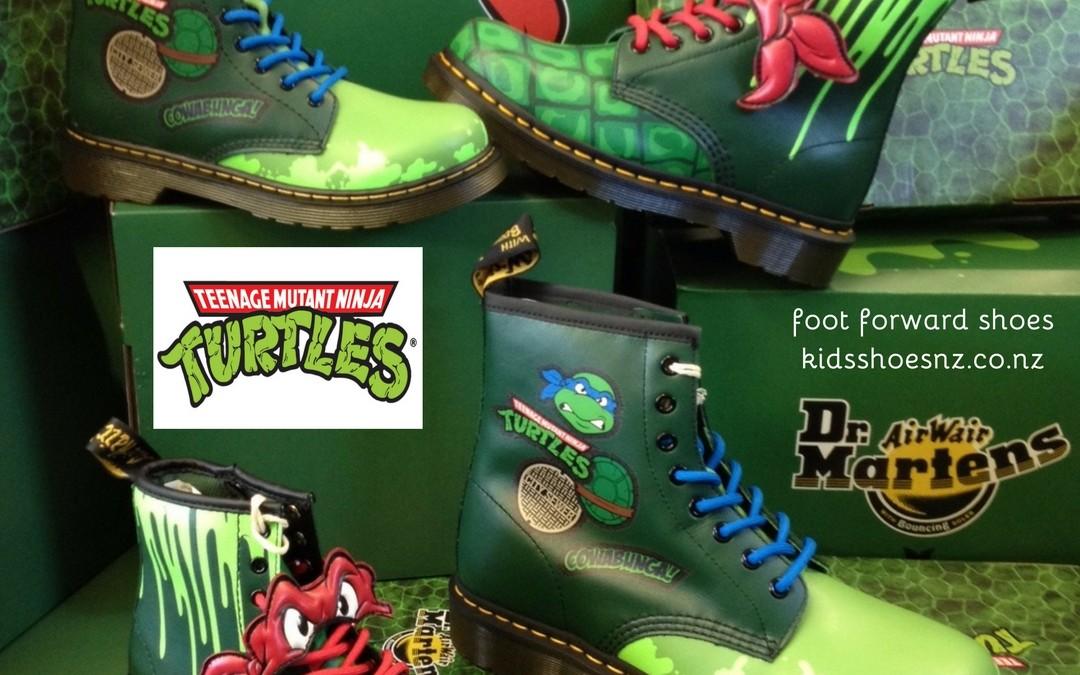 Dr Martens – Teenage Mutant Ninja Turtle Styles Just In