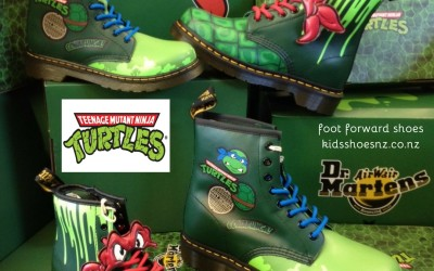 Dr Martens – Teenage Mutant Ninja Turtle Styles Just In