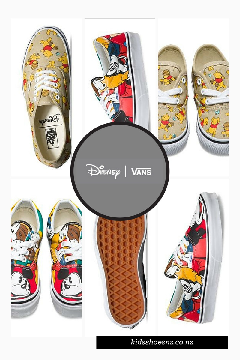 Disney Vans – Due in New Zealand in August – Pre-Order Now – Kids & Adults