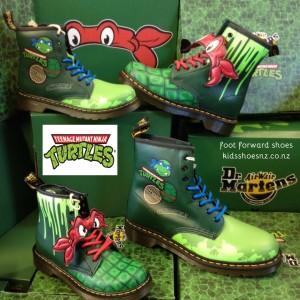 dr martens teenage mutant ninja turtle styles just in kids shoes