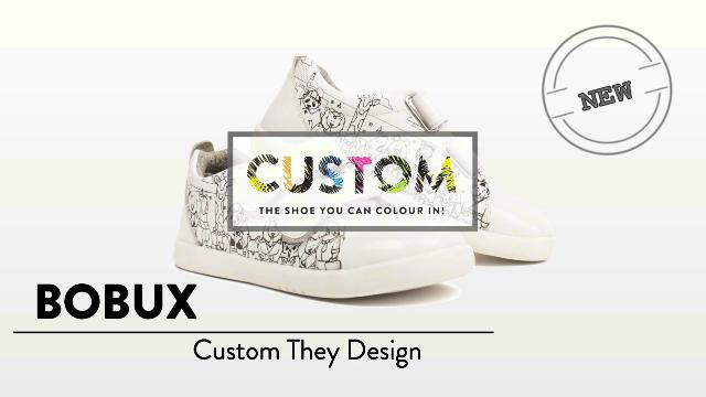 Bobux Kids Custom Leather Shoes